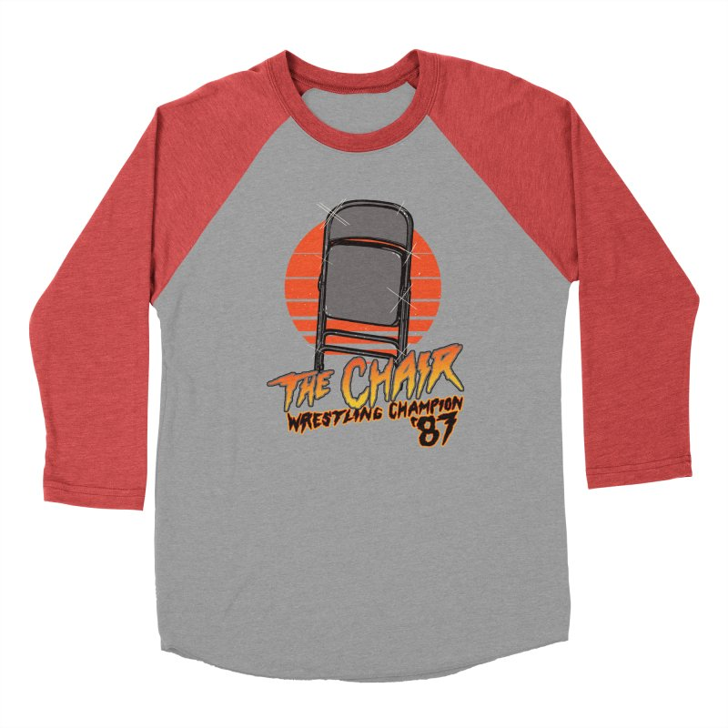 Wrestling Champion Men's Baseball Triblend T-Shirt by hillarywhiterabbit's Artist Shop
