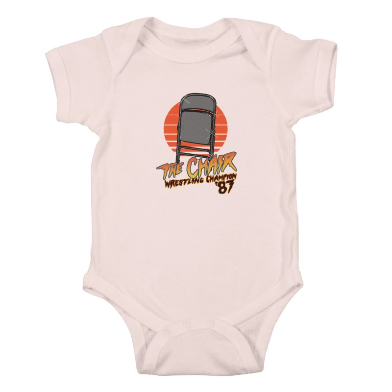 Wrestling Champion Kids Baby Bodysuit by hillarywhiterabbit's Artist Shop