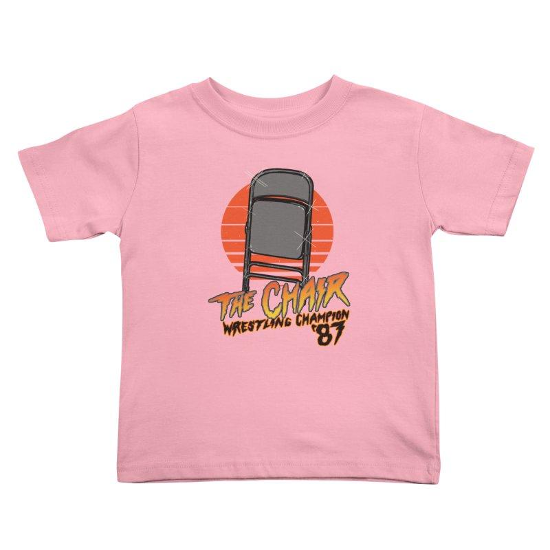 Wrestling Champion Kids Toddler T-Shirt by hillarywhiterabbit's Artist Shop