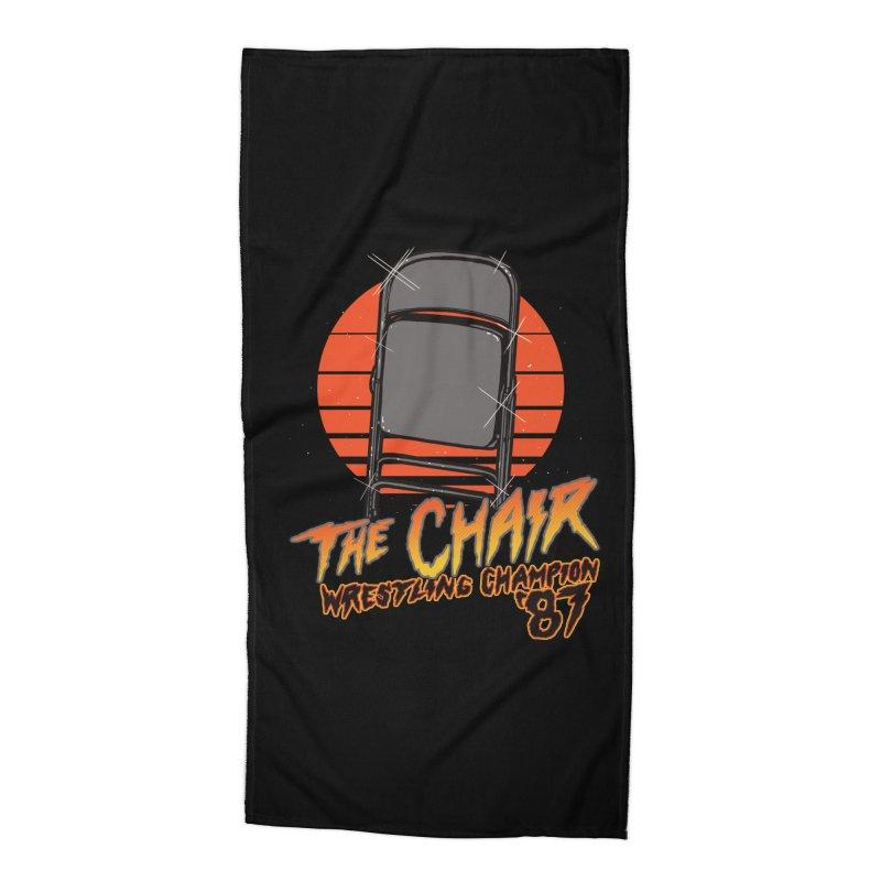 Wrestling Champion Accessories Beach Towel by hillarywhiterabbit's Artist Shop