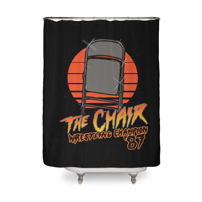 Wrestling Champion Home Shower Curtain by hillarywhiterabbit's Artist Shop