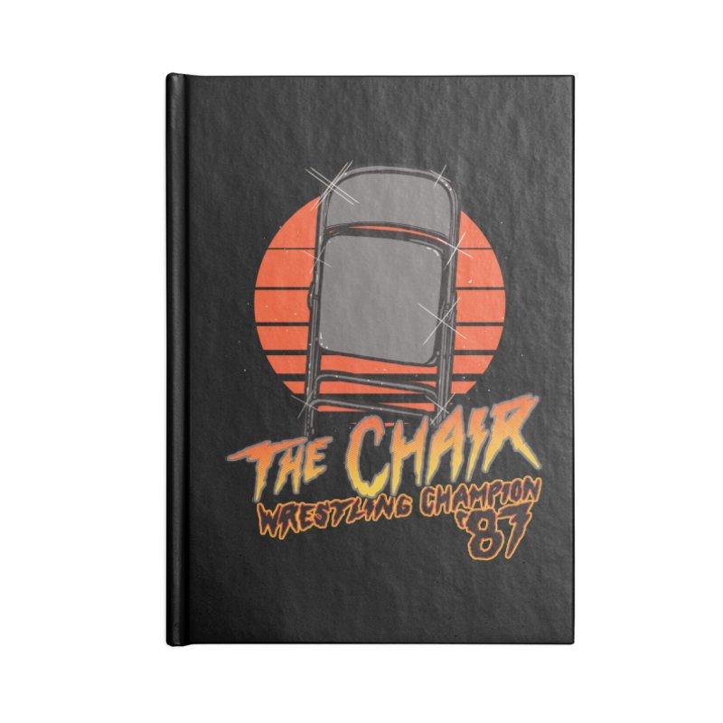 Wrestling Champion Accessories Notebook by hillarywhiterabbit's Artist Shop