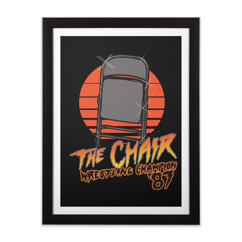 Wrestling Champion Home Framed Fine Art Print by hillarywhiterabbit's Artist Shop