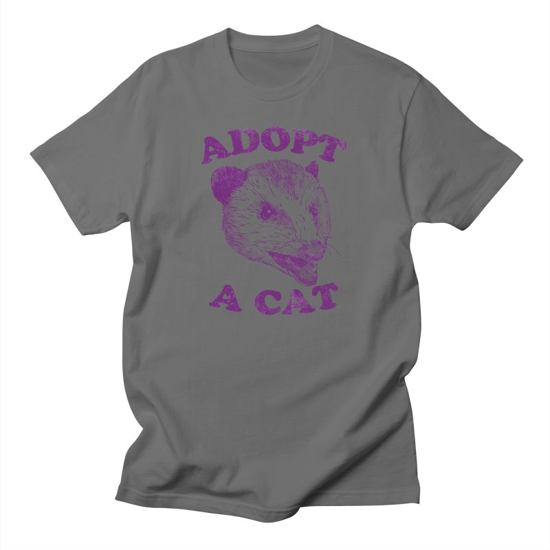Adopt A Cat Men's T-Shirt by Hillary White Rabbit