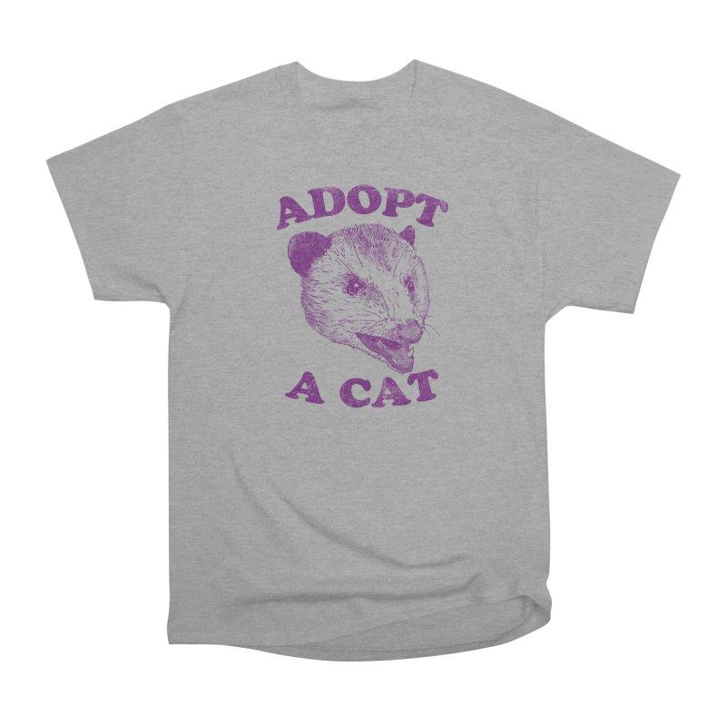 Adopt A Cat Men's Classic T-Shirt by hillarywhiterabbit's Artist Shop