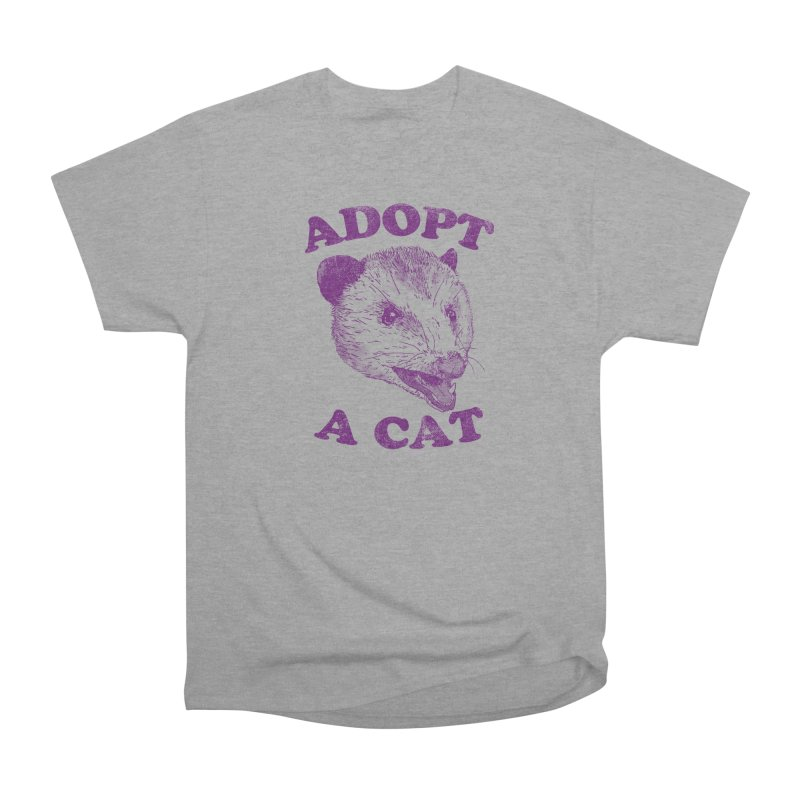 Adopt A Cat Women's Classic Unisex T-Shirt by hillarywhiterabbit's Artist Shop