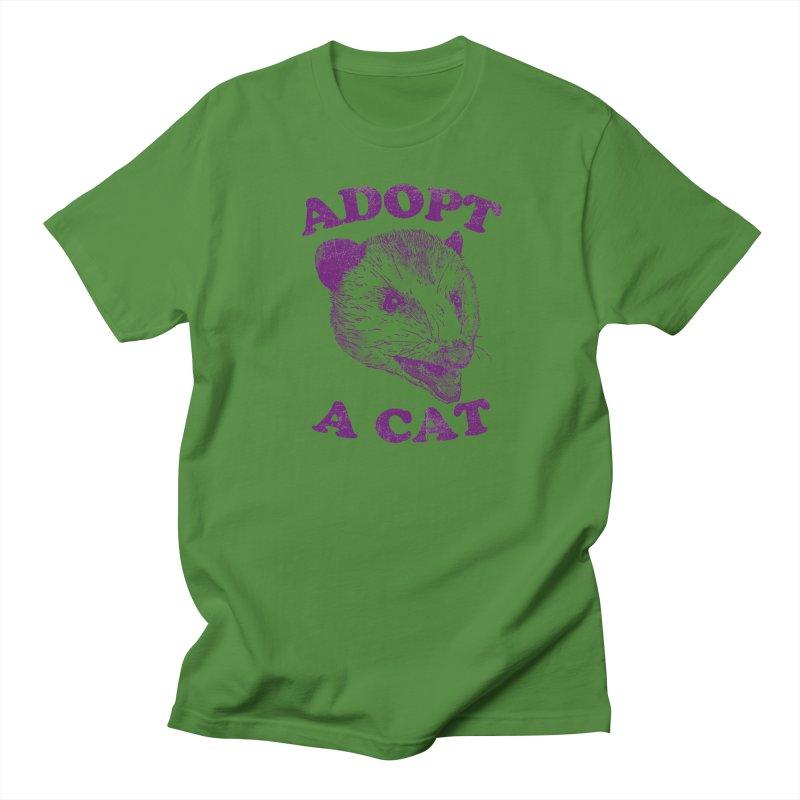 Adopt A Cat Men's T-Shirt by hillarywhiterabbit's Artist Shop