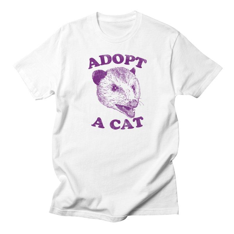 Adopt A Cat Women's Unisex T-Shirt by hillarywhiterabbit's Artist Shop