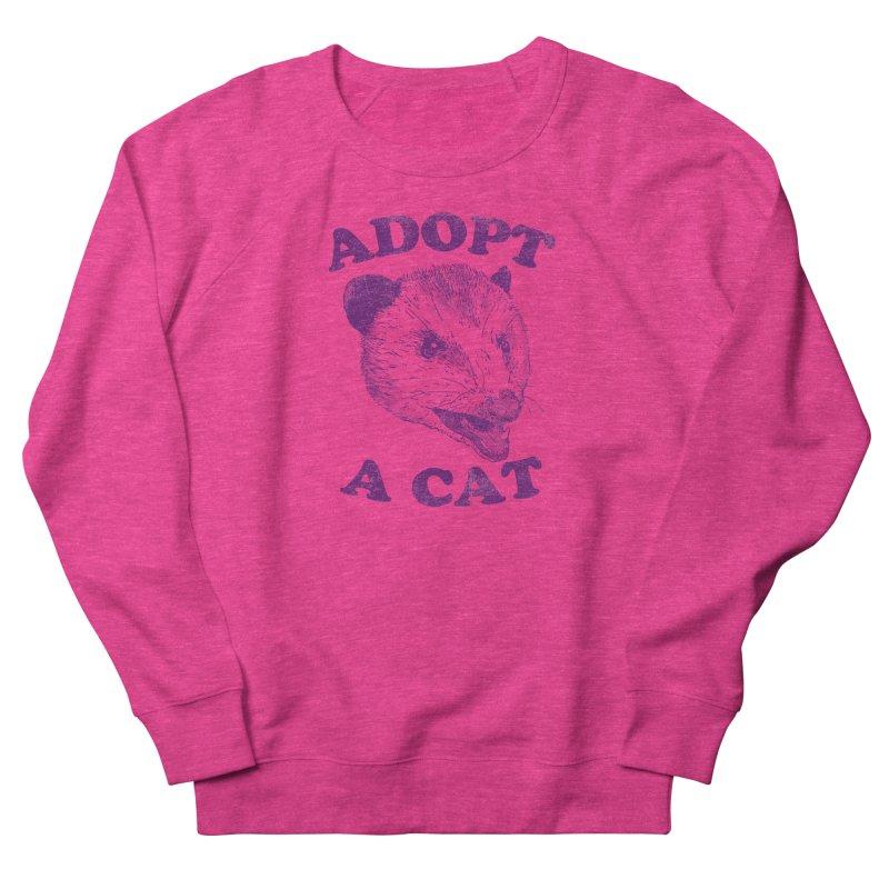 Adopt A Cat Women's Sweatshirt by hillarywhiterabbit's Artist Shop