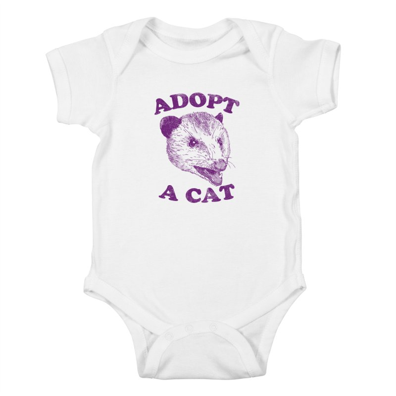 Adopt A Cat Kids Baby Bodysuit by hillarywhiterabbit's Artist Shop