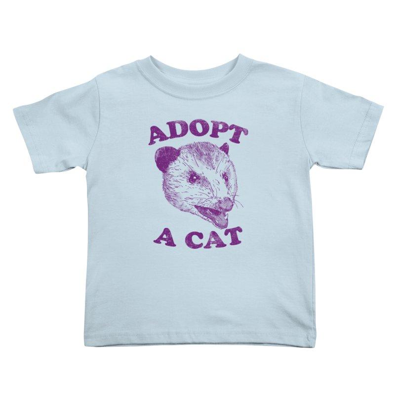 Adopt A Cat Kids Toddler T-Shirt by hillarywhiterabbit's Artist Shop