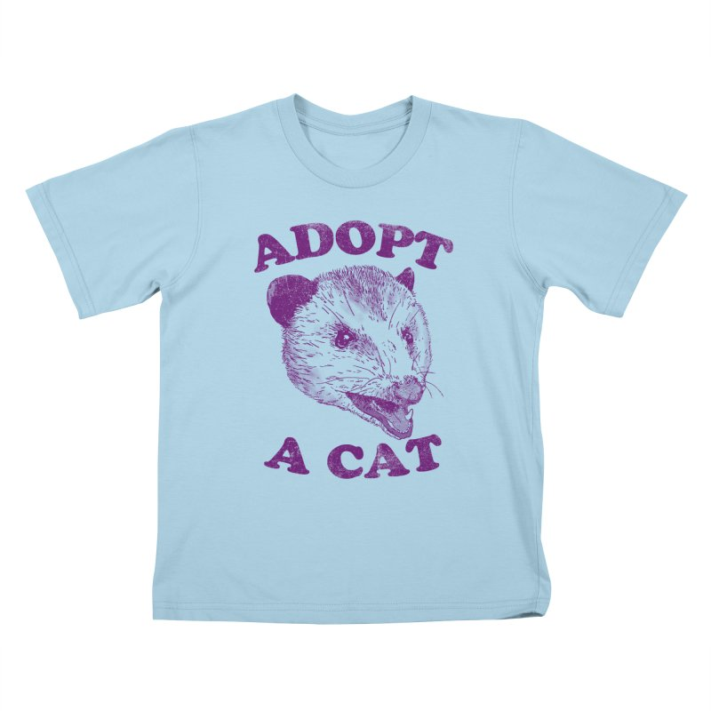 Adopt A Cat Kids T-Shirt by hillarywhiterabbit's Artist Shop