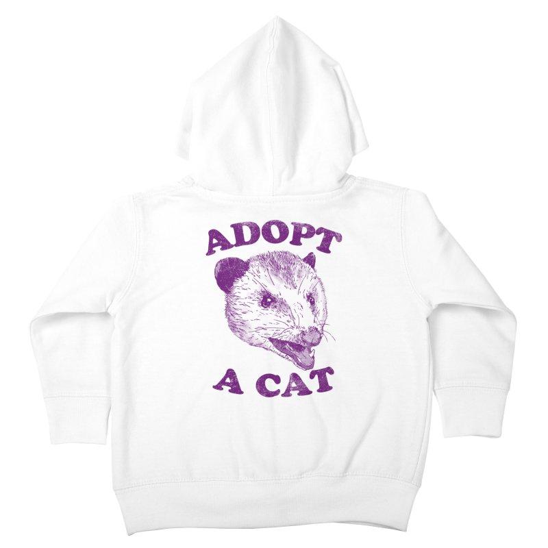 Adopt A Cat Kids Toddler Zip-Up Hoody by hillarywhiterabbit's Artist Shop