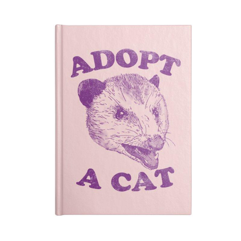 Adopt A Cat Accessories Notebook by hillarywhiterabbit's Artist Shop