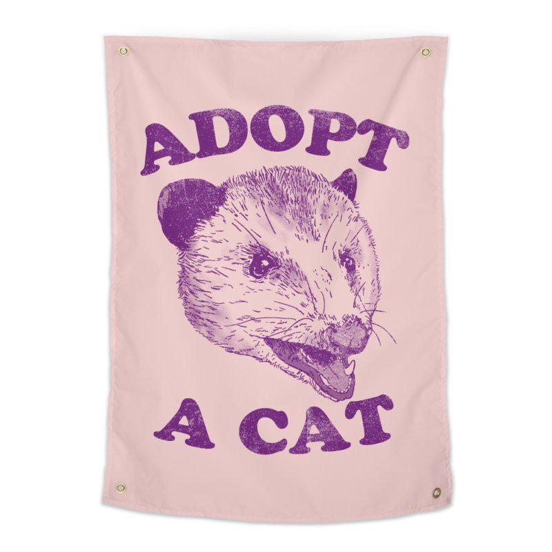 Adopt A Cat Home Tapestry by hillarywhiterabbit's Artist Shop