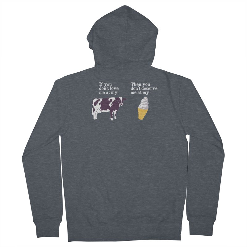 Deserve Ice Cream Women's Zip-Up Hoody by hillarywhiterabbit's Artist Shop
