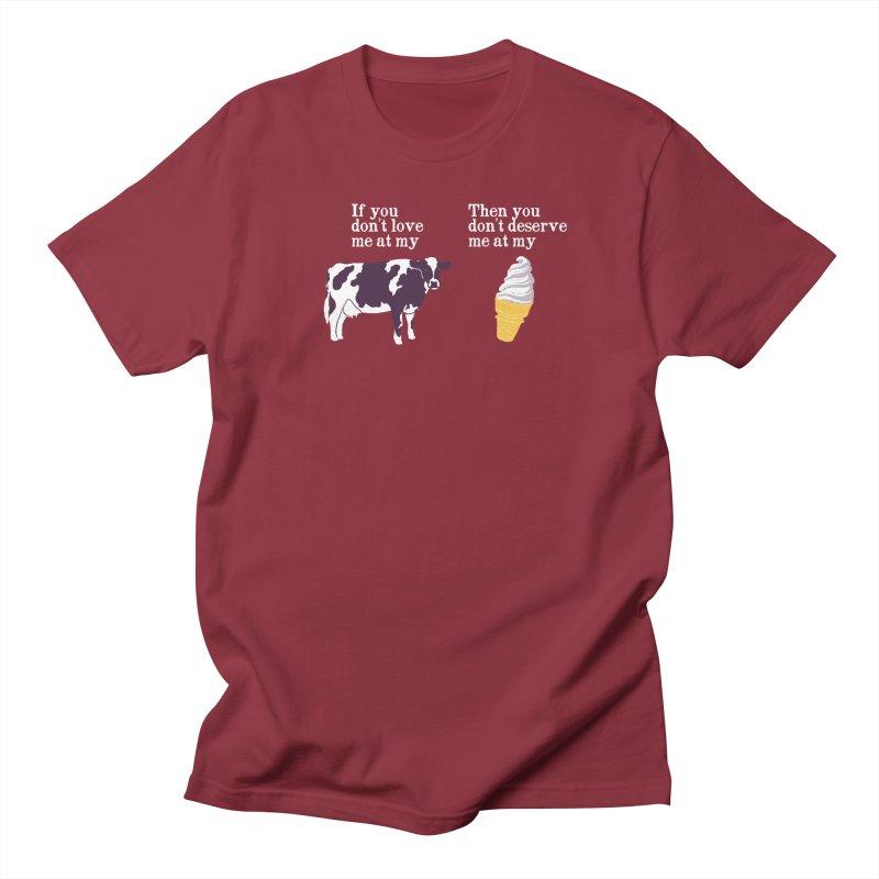 Deserve Ice Cream Men's T-Shirt by hillarywhiterabbit's Artist Shop