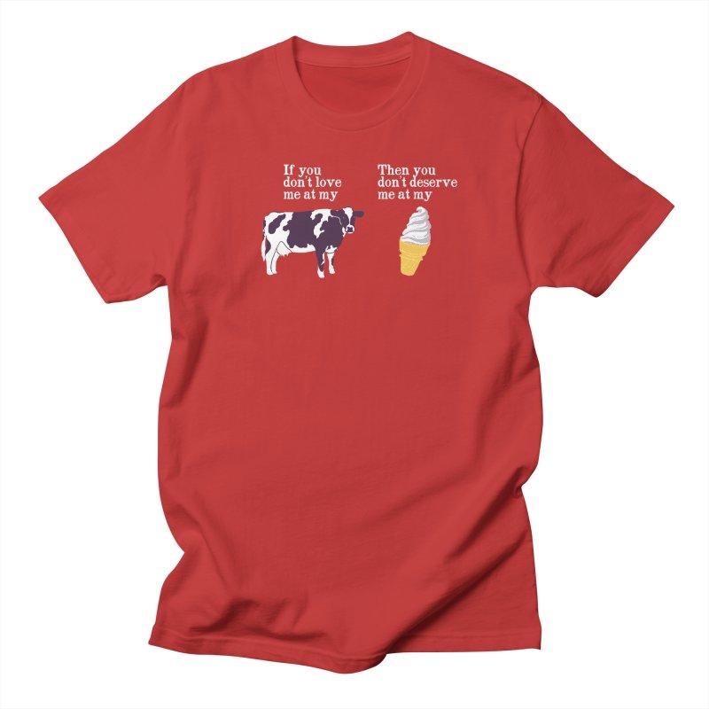 Deserve Ice Cream Women's Unisex T-Shirt by hillarywhiterabbit's Artist Shop