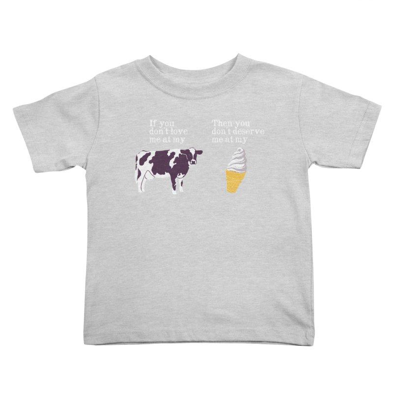Deserve Ice Cream Kids Toddler T-Shirt by hillarywhiterabbit's Artist Shop