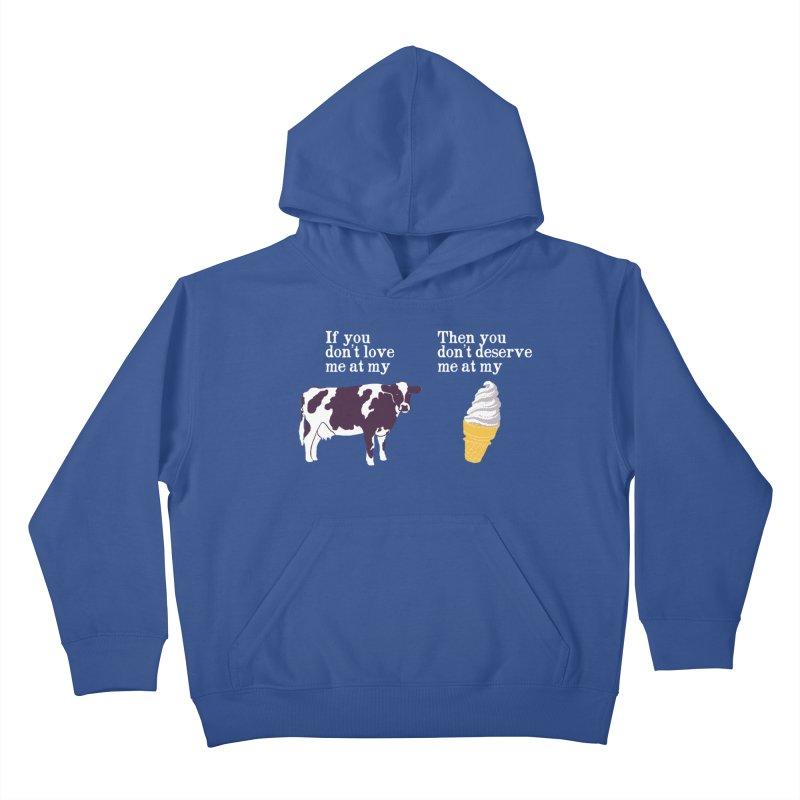 Deserve Ice Cream Kids Pullover Hoody by hillarywhiterabbit's Artist Shop