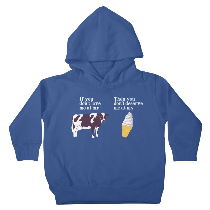 Deserve Ice Cream Kids Toddler Pullover Hoody by hillarywhiterabbit's Artist Shop