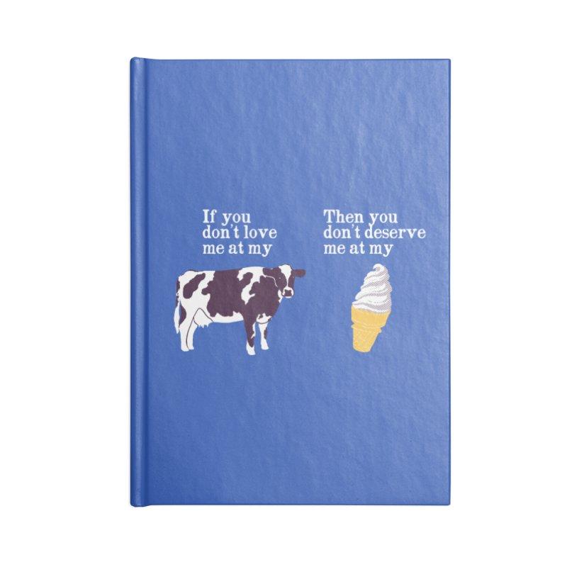 Deserve Ice Cream Accessories Notebook by hillarywhiterabbit's Artist Shop