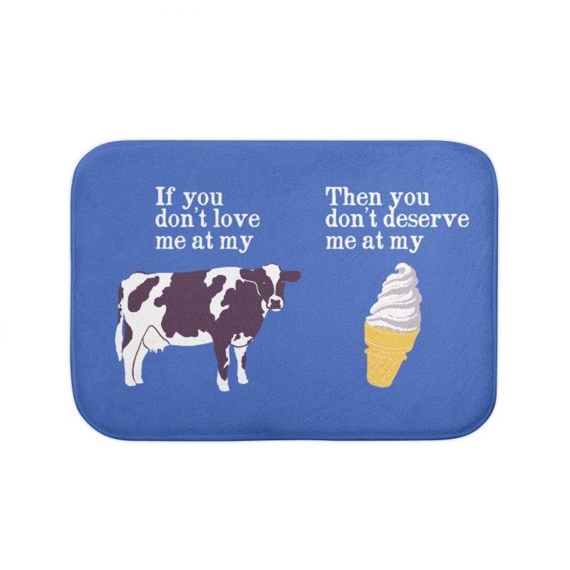 Deserve Ice Cream Home Bath Mat by hillarywhiterabbit's Artist Shop