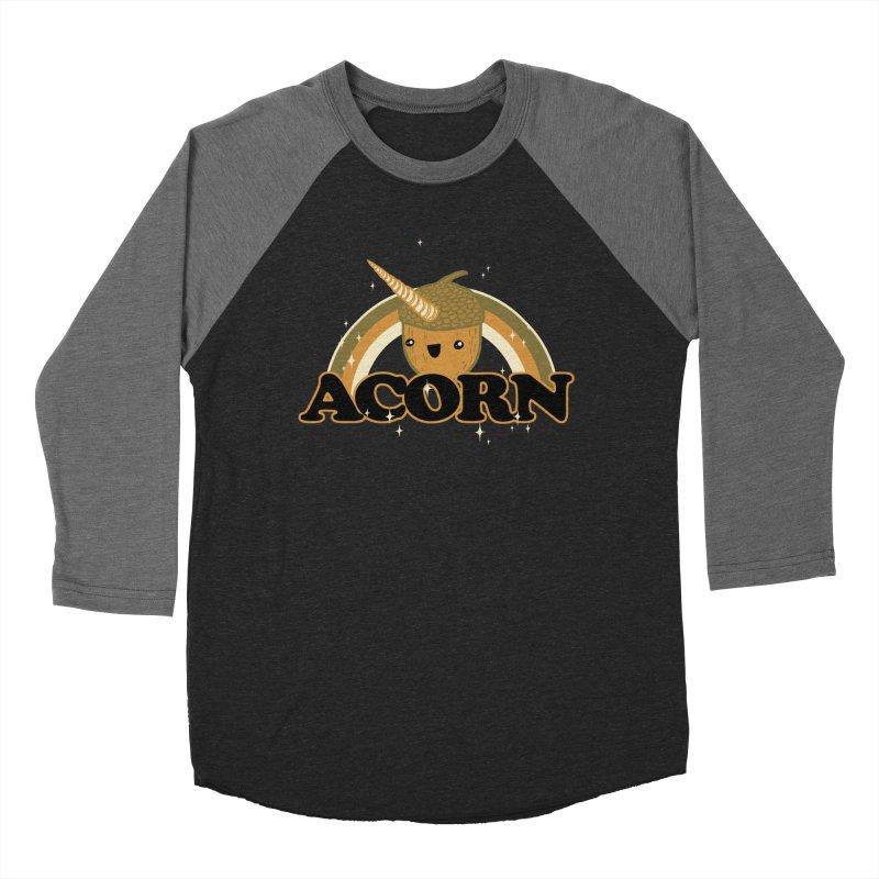 Acorn Women's Baseball Triblend T-Shirt by hillarywhiterabbit's Artist Shop