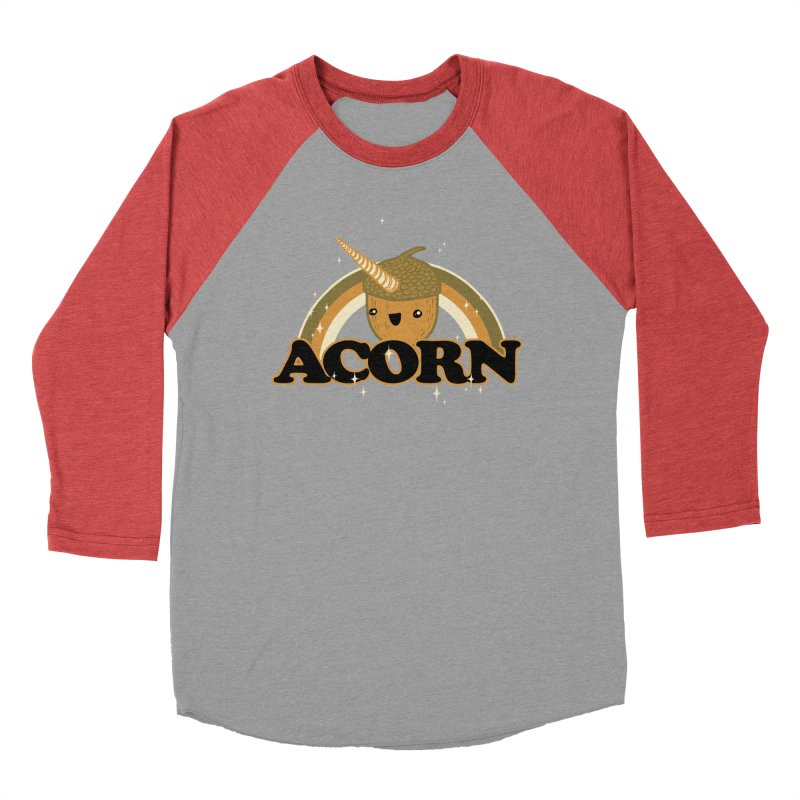 Acorn Men's Baseball Triblend T-Shirt by hillarywhiterabbit's Artist Shop