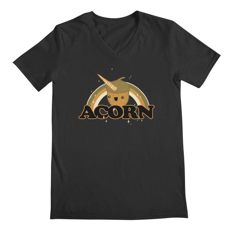 Acorn Men's V-Neck by hillarywhiterabbit's Artist Shop
