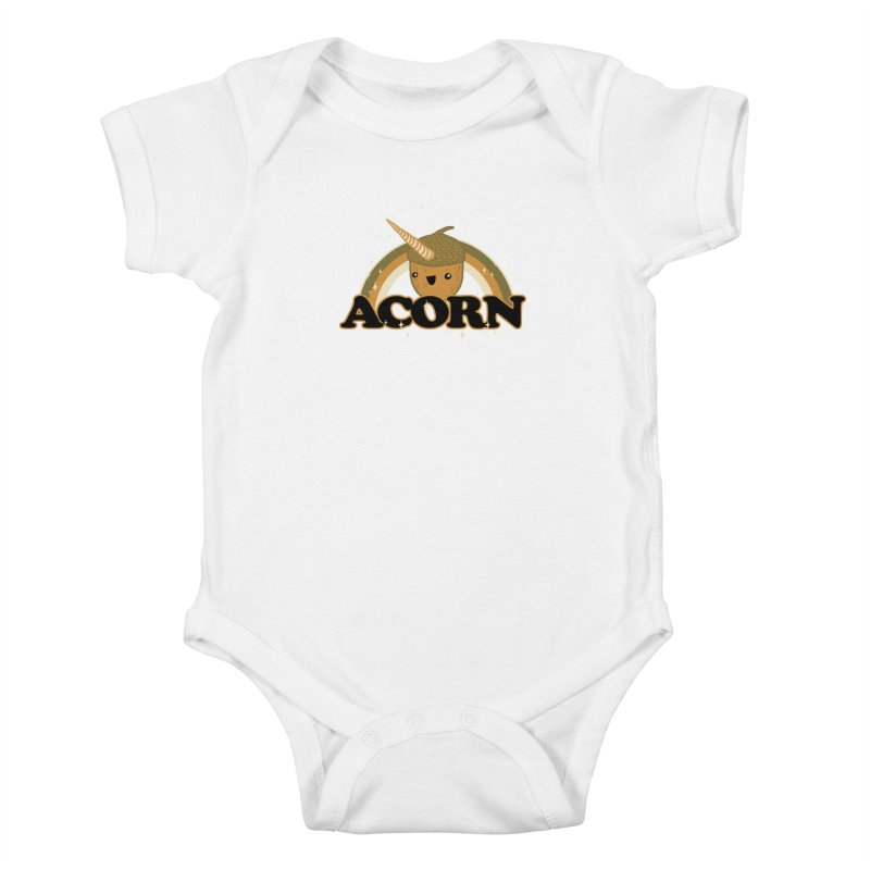 Acorn Kids Baby Bodysuit by hillarywhiterabbit's Artist Shop