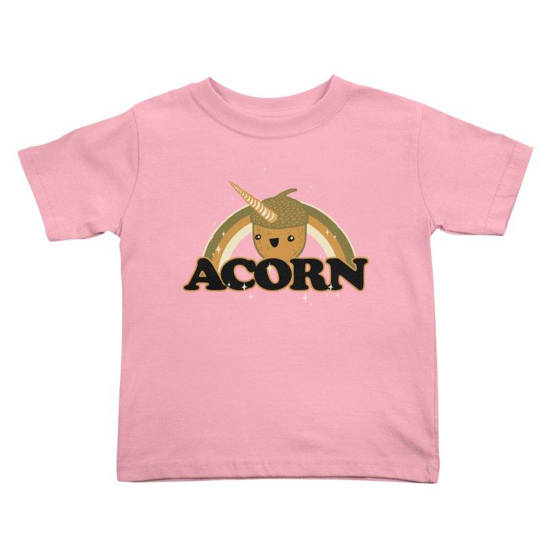 Acorn Kids Toddler T-Shirt by hillarywhiterabbit's Artist Shop