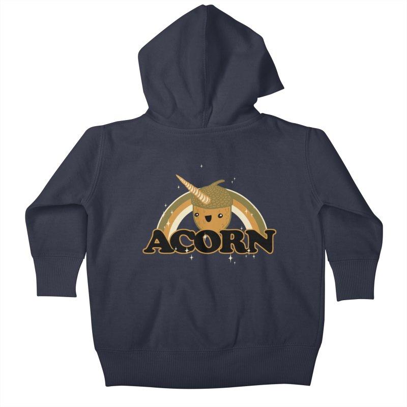 Acorn Kids Baby Zip-Up Hoody by hillarywhiterabbit's Artist Shop