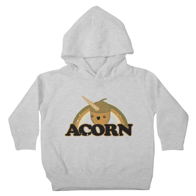 Acorn Kids Toddler Pullover Hoody by hillarywhiterabbit's Artist Shop