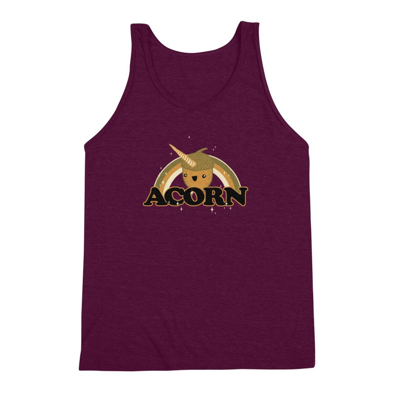 Acorn Men's Triblend Tank by hillarywhiterabbit's Artist Shop