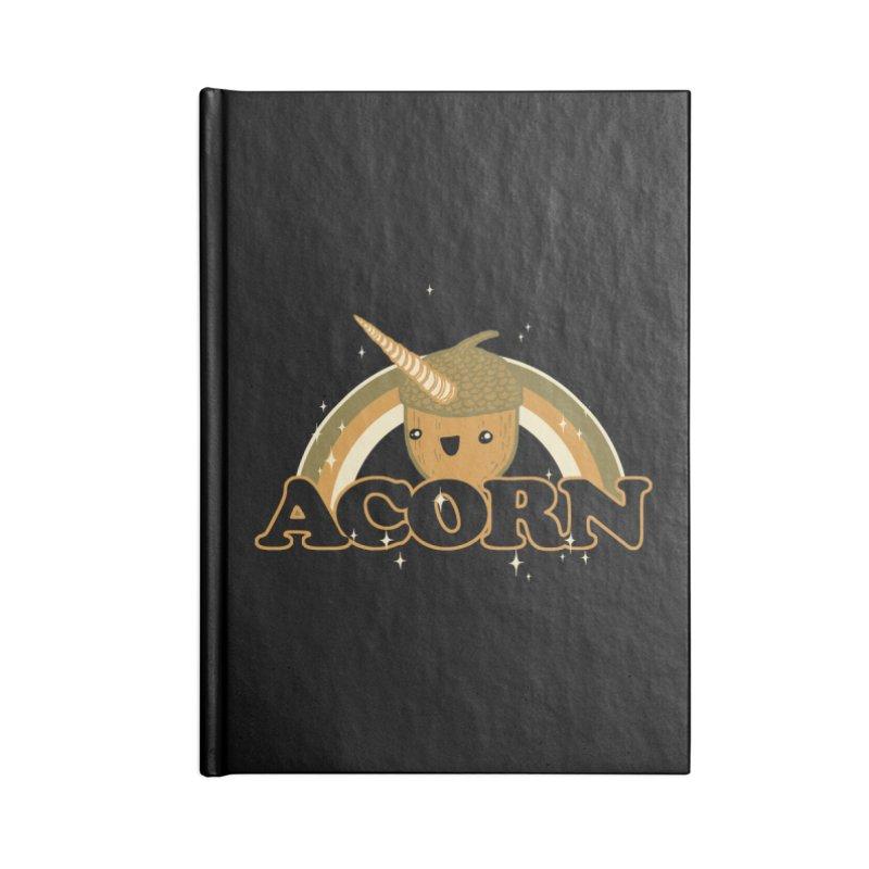 Acorn Accessories Notebook by hillarywhiterabbit's Artist Shop
