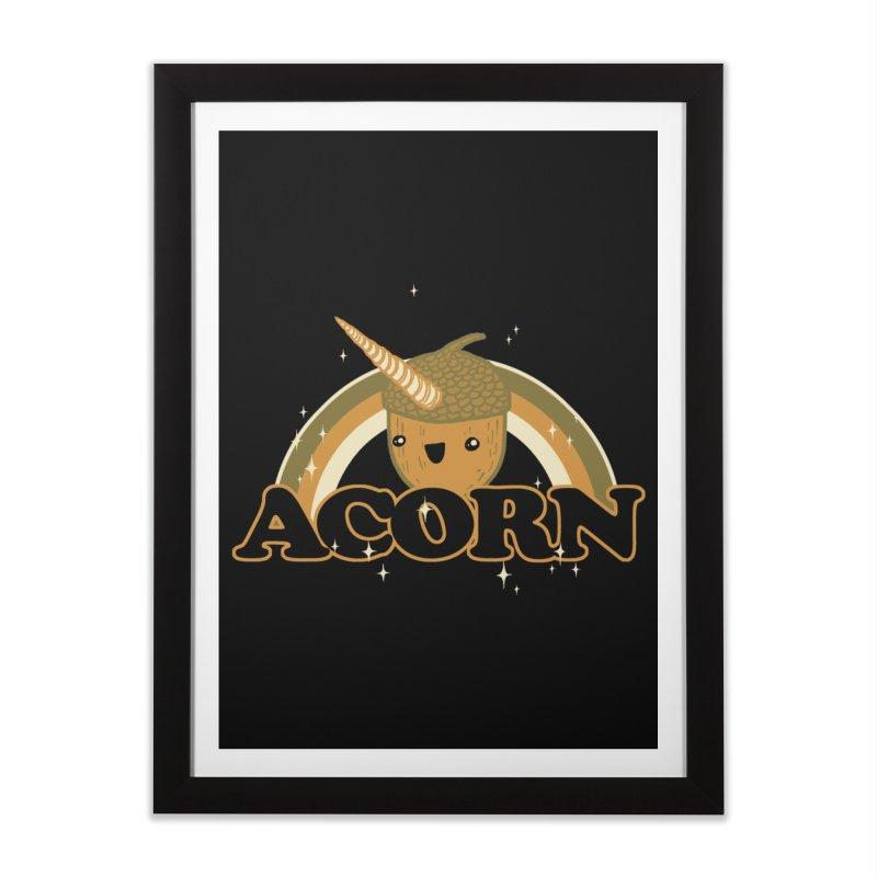 Acorn Home Framed Fine Art Print by hillarywhiterabbit's Artist Shop