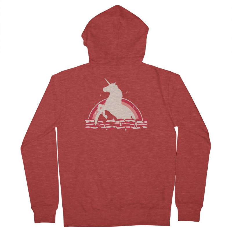 Bacorn Women's Zip-Up Hoody by hillarywhiterabbit's Artist Shop