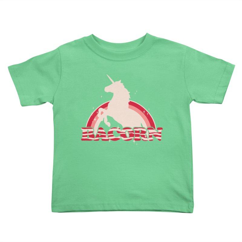 Bacorn Kids Toddler T-Shirt by hillarywhiterabbit's Artist Shop