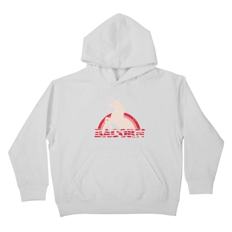 Bacorn Kids Pullover Hoody by hillarywhiterabbit's Artist Shop
