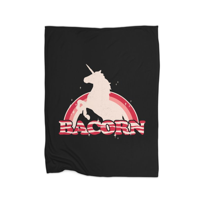 Bacorn Home Blanket by hillarywhiterabbit's Artist Shop