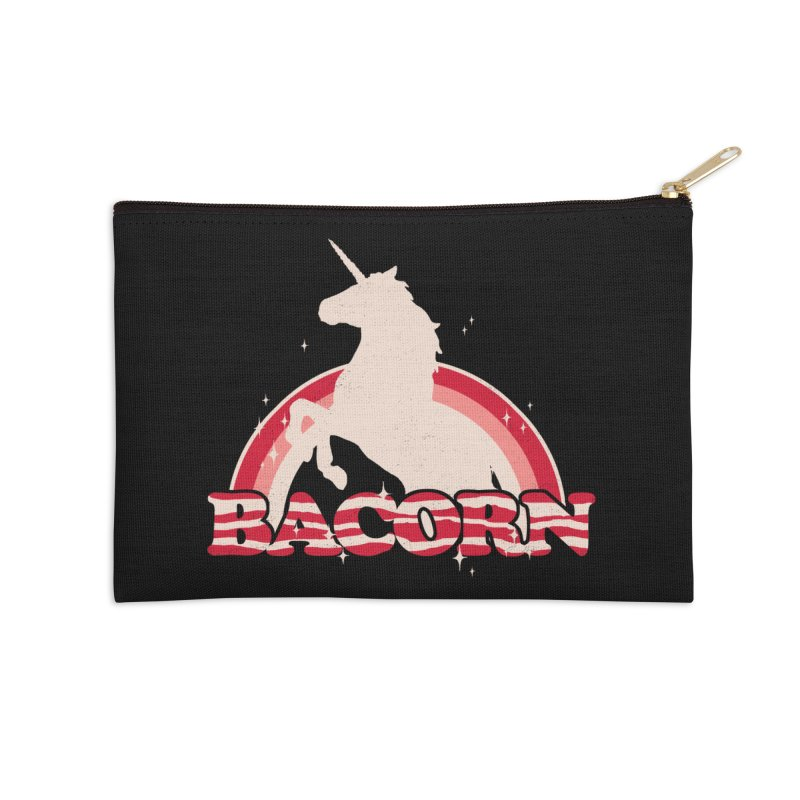 Bacorn Accessories Zip Pouch by hillarywhiterabbit's Artist Shop