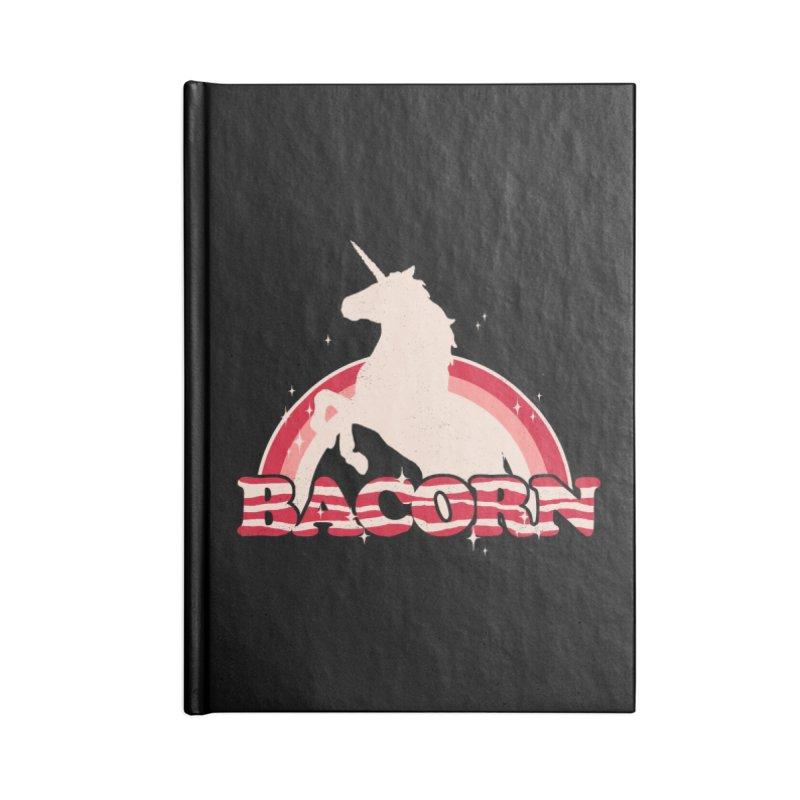 Bacorn Accessories Notebook by hillarywhiterabbit's Artist Shop