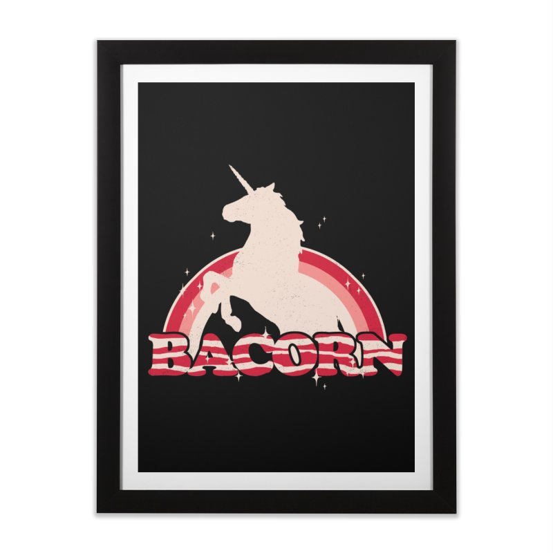 Bacorn Home Framed Fine Art Print by hillarywhiterabbit's Artist Shop