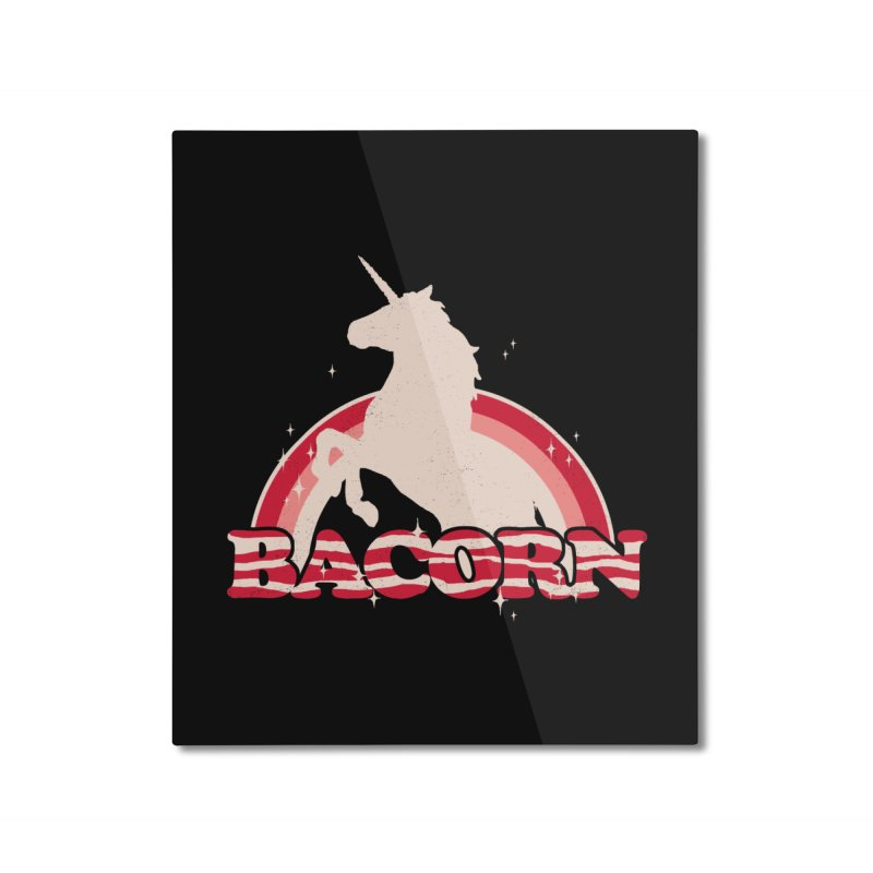 Bacorn Home Mounted Aluminum Print by hillarywhiterabbit's Artist Shop