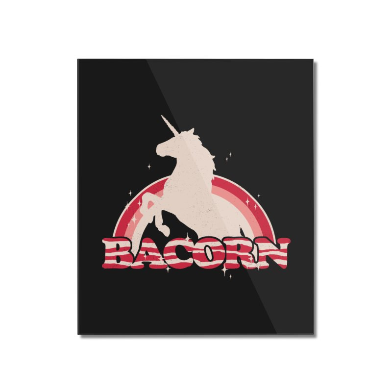 Bacorn Home Mounted Acrylic Print by hillarywhiterabbit's Artist Shop
