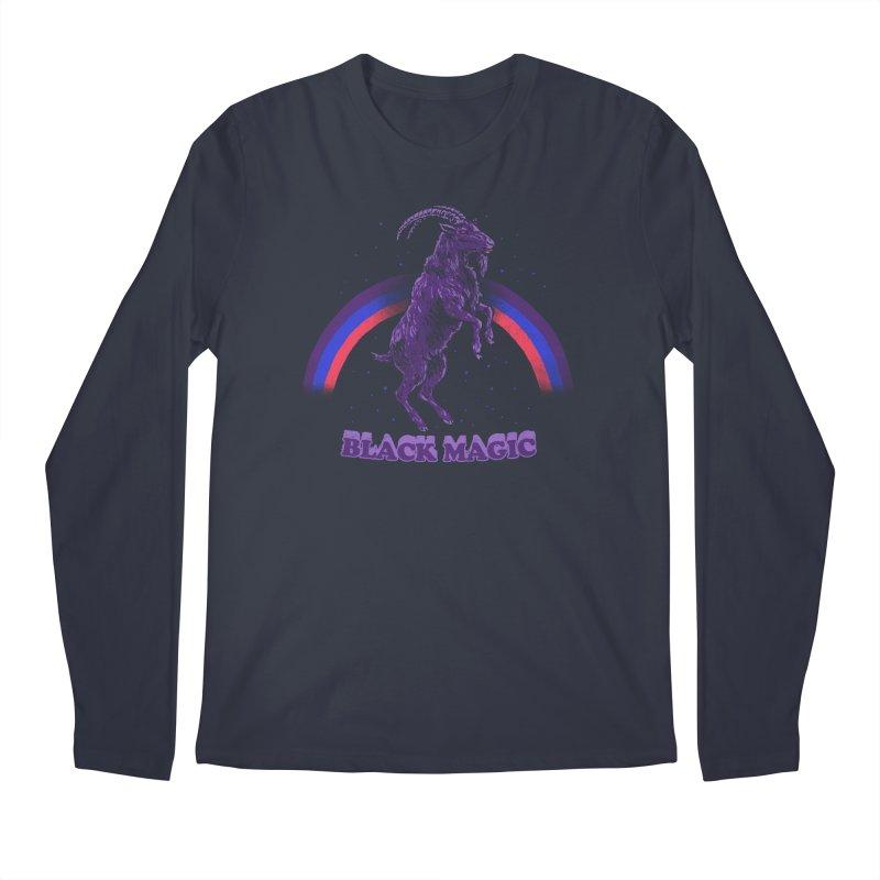 Black Magic Men's Longsleeve T-Shirt by hillarywhiterabbit's Artist Shop