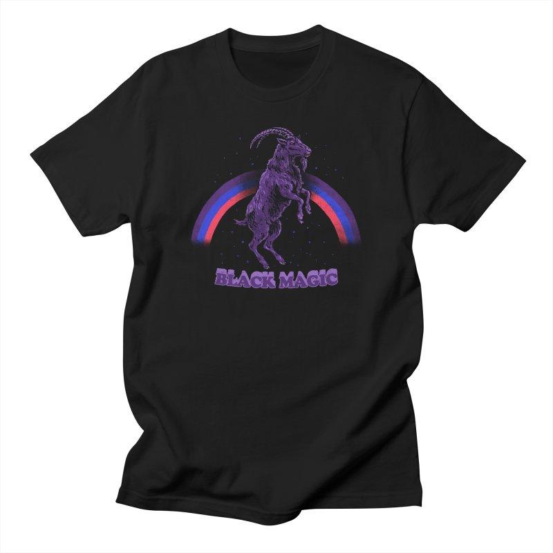 Black Magic Women's Unisex T-Shirt by hillarywhiterabbit's Artist Shop