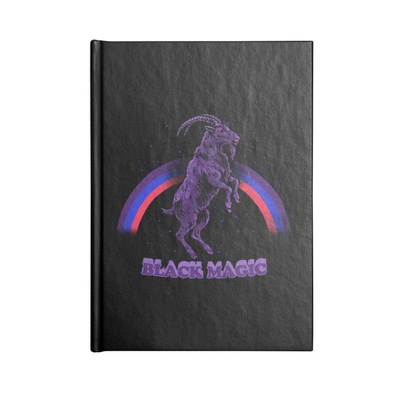 Black Magic Accessories Notebook by hillarywhiterabbit's Artist Shop