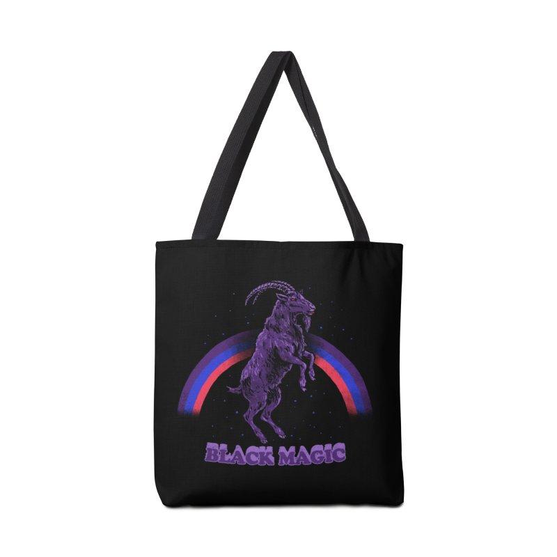 Black Magic Accessories Bag by hillarywhiterabbit's Artist Shop
